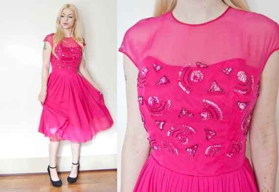 Vintage 1960s Dress dejavintage