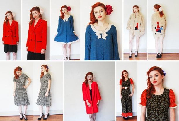 Some pretty vintage casuals new on etsy to end the week!