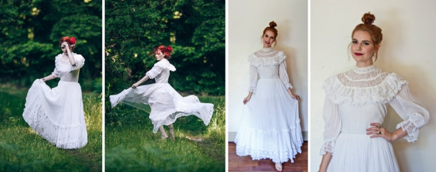 70s gunne sax wedding dress gown