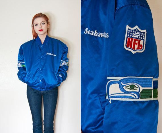 vintage seahawks starter jacket