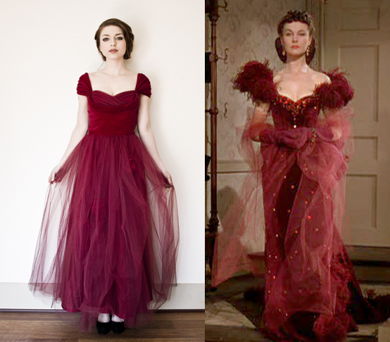 vintage 1950s gown tulle dress